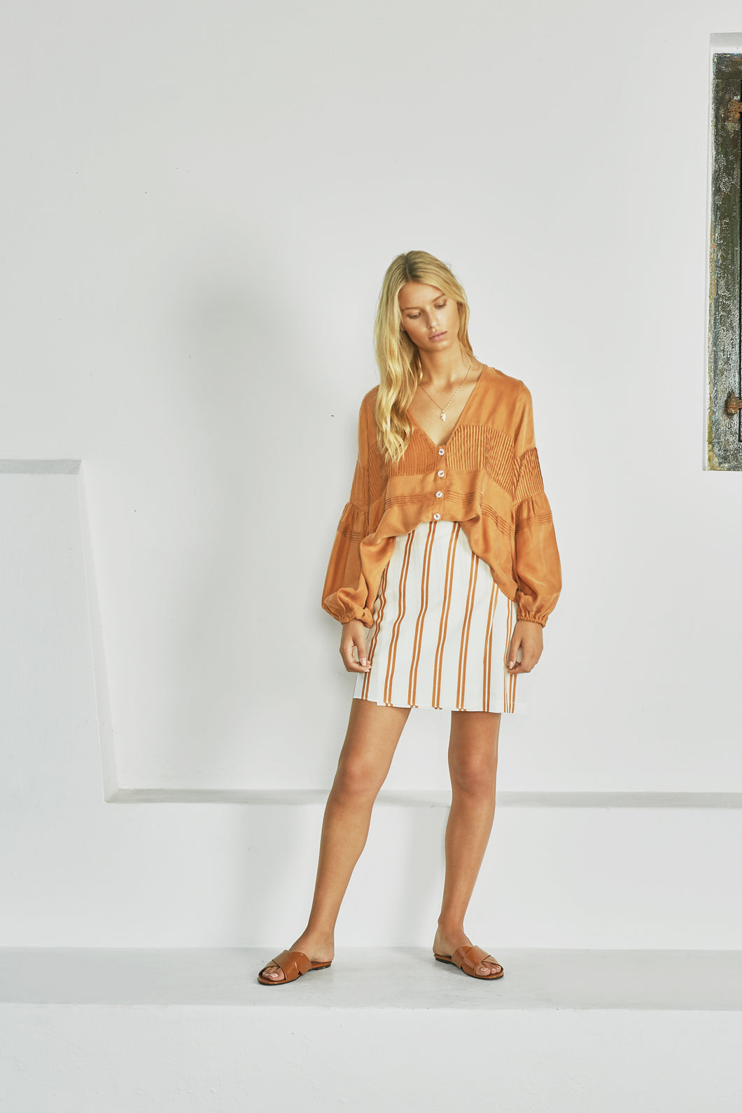 The Lina Blouse by Sancia Online at Jessie sue with FREE EXPRESS shipping in Australia, no minimum spend, AFTERPAY, FREE RETURNS within Australia, 100% SAFE & SECURE. WE CAN'T HELP BUT LOVE BOHEMIA - WHO DOESN'T? THIS BILLOWY BLOUSE
