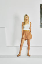 Load image into Gallery viewer, The Sabrina Short – Francesca Stripe by Sancia Online at Jessie sue with FREE EXPRESS shipping in Australia, no minimum spend, AFTERPAY, FREE RETURNS within Australia, 100% SAFE & SECURE. WITH MORE TAILORED LINES, THE SABRINA'S FLAT FRONT SECTION AND LOOSE CUT ARE THE MOST FLATTERING STYLE OF SHORTS YOU CAN IMAGINE