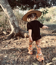 Load image into Gallery viewer, Arlo Top Black, King Raja Organics, Australian Girls Clothing, Organic Children's Clothing Australia