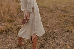 Before Anyone Else clothing Jarrah Shirt Dress Natural sustainable clothing brands resort wear australia sustainable clothing loungewear free express shipping