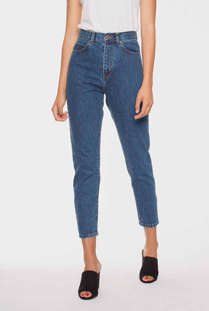 Dr Denim Nora Jeans Mid Retro Womens high waisted mom jeans Womens high waisted denim Free Express Shipping Free Standard Shipping Worldwide Afterpay $20 off your first order