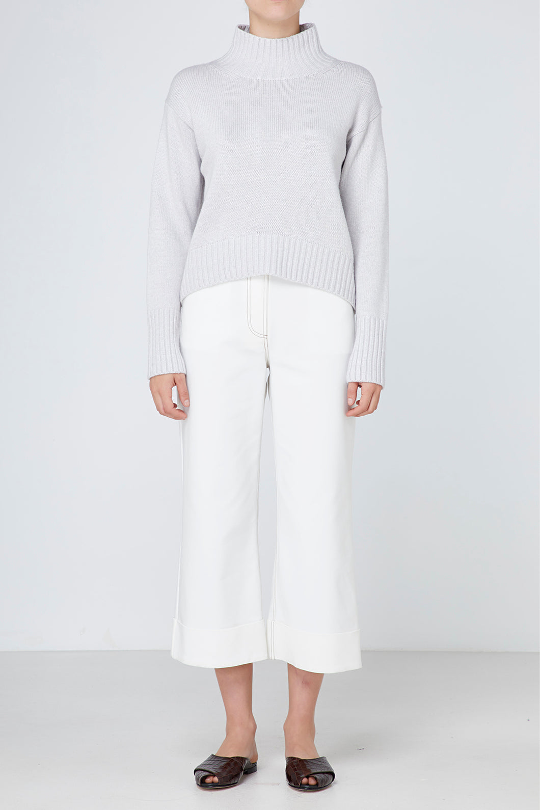 Elka Collective Amaretta knit, free shipping, Sustainable knitwear, Ethical knitwear, Soft cotton wool yarn knitwear, laid back luxe knitwear, Sustainable Australian Clothing Brand, Sustainable knitwear on sale