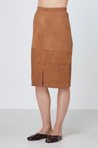 Elka Collective Rozaria Leather Skirt Womens leather skirt womens midi skirt womens tan leather skirt Free Express Shipping Free Standard Shipping Worldwide Afterpay $20 off your first order