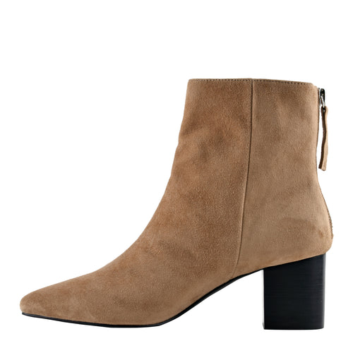 Florence Boot Tobacco by Sol Sana Online at Jessie with FREE EXPRESS shipping & FREE RETURNS in Australia. FREE STANDARD shipping WORLDWIDE (minimum spend $150), AFTERPAY.  $20 OFF your first order, 100% SAFE & SECURE. Heel height: 6cm 100% suede upper 100% leather inner Synthetic sole Stacked wood heel