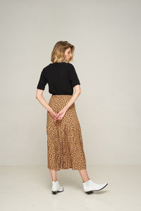Rue Stiic Newport Pleat Skirt Leopard Womens Skirt Womens Leopard Skirt Free Express Shipping Free Returns Free Standard Shipping Worldwide Afterpay $20 off your first order