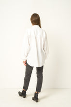 Load image into Gallery viewer, RUE STIIC | CLAPTON OVERSIZE SHIRT - WHITE