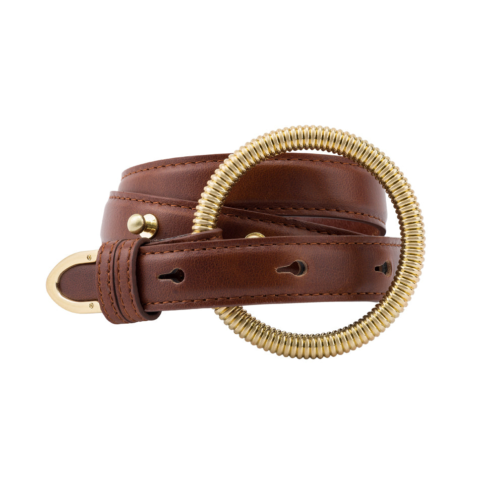 The Manou Belt – Vintage Tan by Sancia Online at Jessie Sue with FREE EXPRESS shipping & FREE RETURNS in Australia. FREE STANDARD shipping WORLDWIDE (minimum spend $150), AFTERPAY.  $20 OFF your first order, 100% SAFE & SECURE. THE MANOU BELT IS A WARDROBE STAPLE, COMPOSED OF PREMIUM OIL-TANNED COWHIDE AND GOAT LEATHER