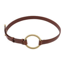 Load image into Gallery viewer, The Manou Belt – Vintage Tan by Sancia Online at Jessie Sue with FREE EXPRESS shipping & FREE RETURNS in Australia. FREE STANDARD shipping WORLDWIDE (minimum spend $150), AFTERPAY.  $20 OFF your first order, 100% SAFE & SECURE. THE MANOU BELT IS A WARDROBE STAPLE, COMPOSED OF PREMIUM OIL-TANNED COWHIDE AND GOAT LEATHER