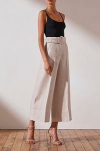 Shona Joy Hamilton Linen Culotte Womens Pants Womens Linen Culottes Free Express Shipping Free Returns Free Standard Shipping Worldwide Afterpay $20 off your first order