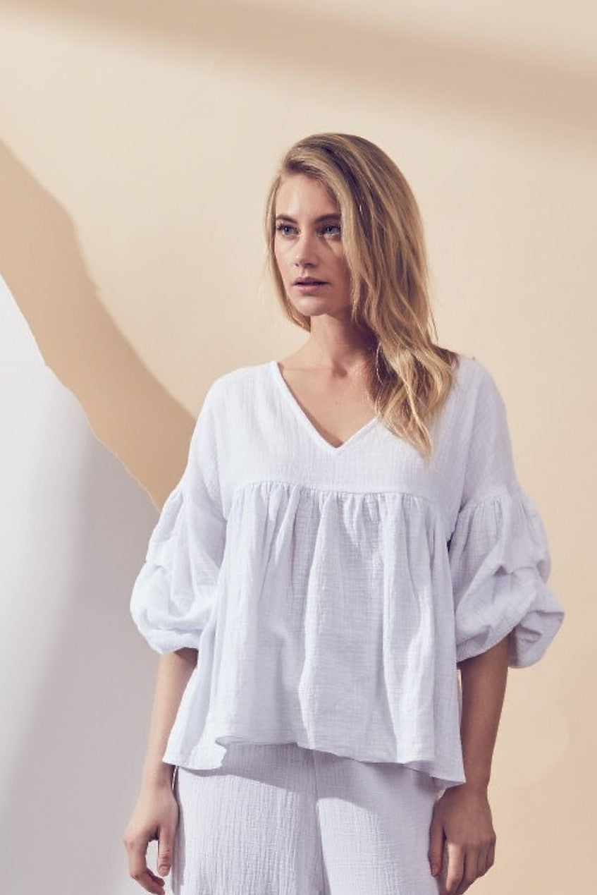 LUNE RESORT | GROVE TOP - WHITE
