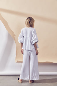 Grove Top - White by Lune Resort Online at Jessie sue Loungewear Australia