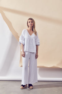 Grove Top - White by Lune Resort Online Loungewear Australia