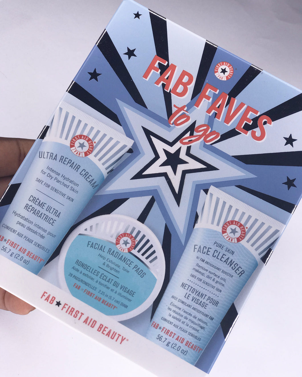 the First Aid Beauty FAB 'Faves to Go' KiT - Yourbeautygrail