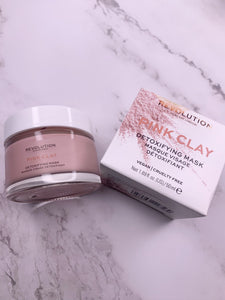 REVOLUTION SKINCARE PINK CLAY DETOXIFYING FACE MASK