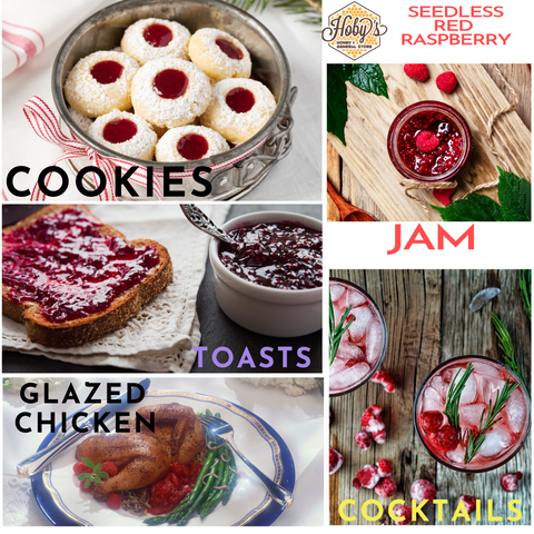 ways to use all natural seedless red raspberry jam