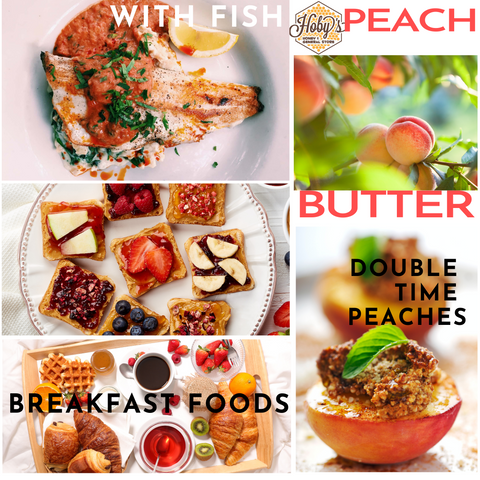 ways to use all natural peach butter