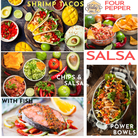 ways to use four pepper salsa