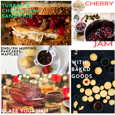 ways to use all natural cherry jam