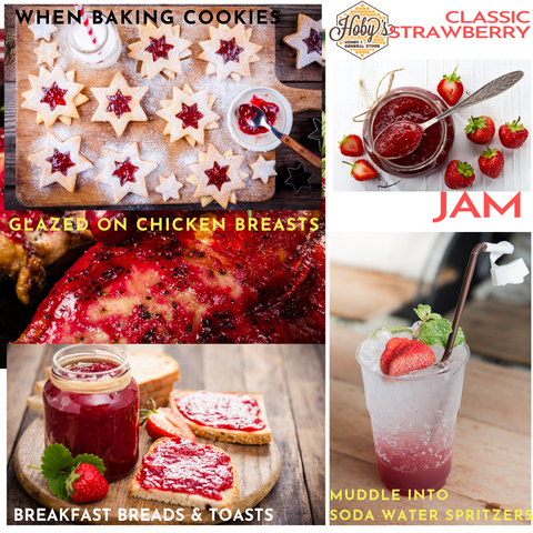 ways to use all natural strawberry jam