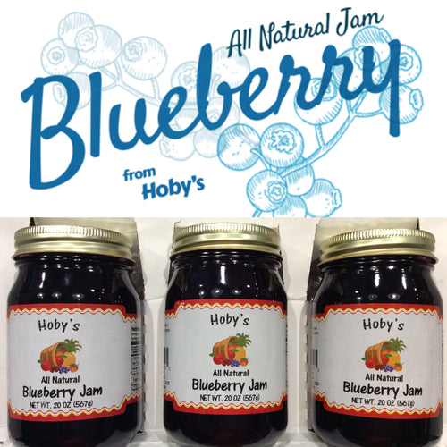 blueberry jam 3 pack with graphic