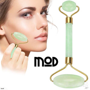 Jade Roller Facial Massager Tool Set