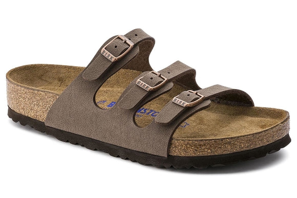 Florida Mocha Birko Flor Soft Footbed