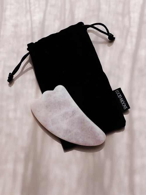 Gua Sha Rose Quartz