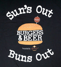"Burgers & Beer 2018 ""Sun's Out"" Tank Top"