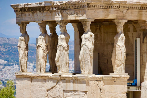 Caryatids in Erechteion