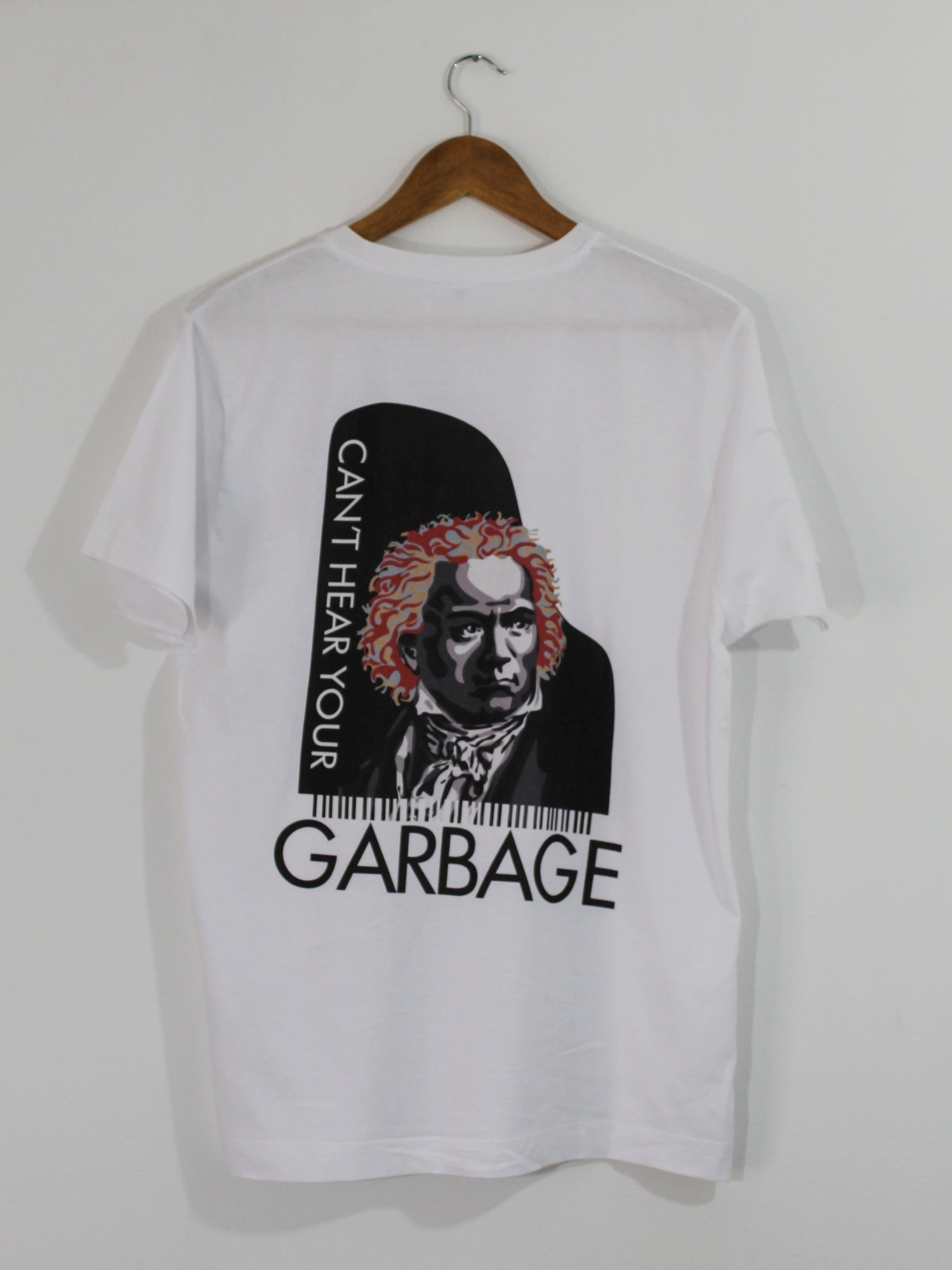 T-SHIRT BEETHOVEN | CAN'T HEAR YOUR GARBAGE