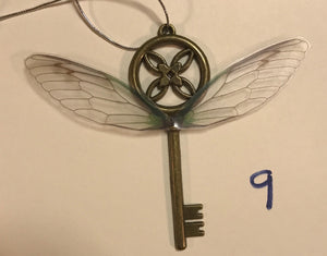 Flying Key Inspired by Harry Potter