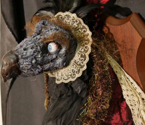 Emperor Skeksis Inspired by the Dark Crystal