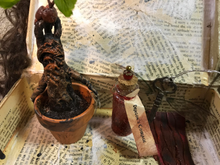 Load image into Gallery viewer, Harry Potter Gift Set with Mini Mandrake, Flying Key, Potion, and Monster Book Box