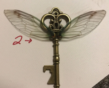 Load image into Gallery viewer, Flying Key Inspired by Harry Potter