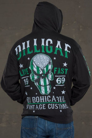 Live Fast Punisher Pullover Hoody