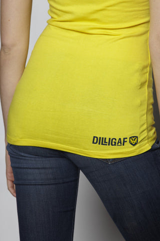 Our Ladies Stocking Stuffer Special 50% OFF Yellow V-Neck