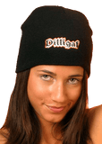 Classic Dilligaf Black Beanie On Sale till December 9th!