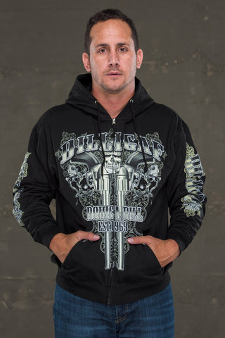 The Long Barrel Dilligaf Zip Up Hoody