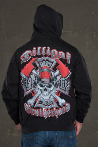 The FD Brotherhood Zip Up Hoody