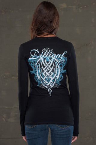 Tribal of Passion Black Long Sleeve
