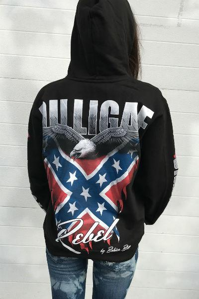 Southern Rebel Dilligaf Pullover Hoody