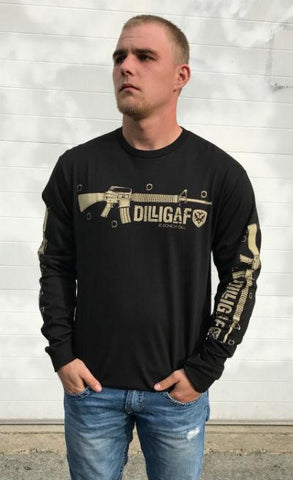 What Doesn't Kill Black Long Sleeve Tee