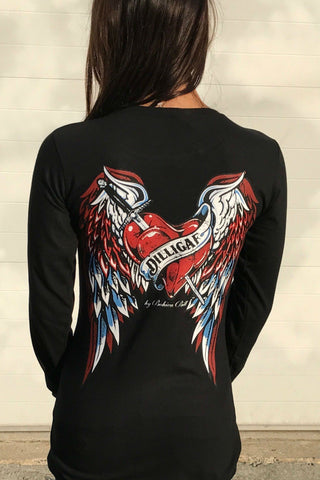 Wing of Prayer Long Sleeve Shirt