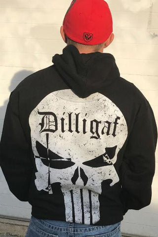 Dilligaf Punisher Hoody