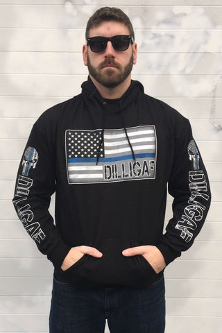 Police Dilligaf Punisher Hoody