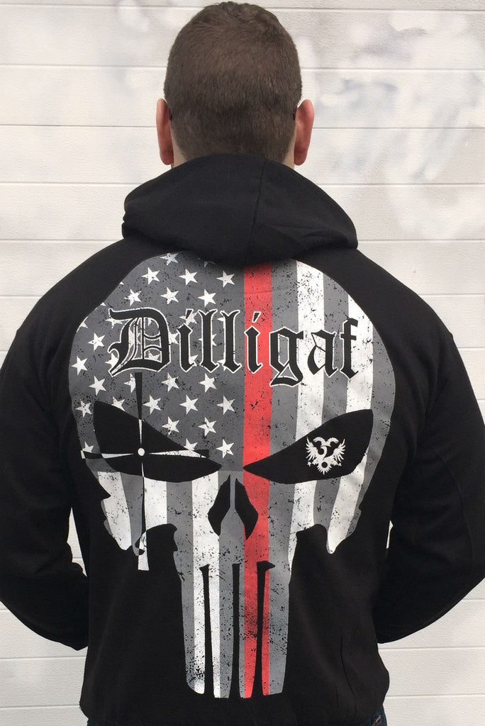 Fire Fighters Matter Punisher Hoody