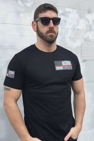 Red Lives Matter Punisher Tee
