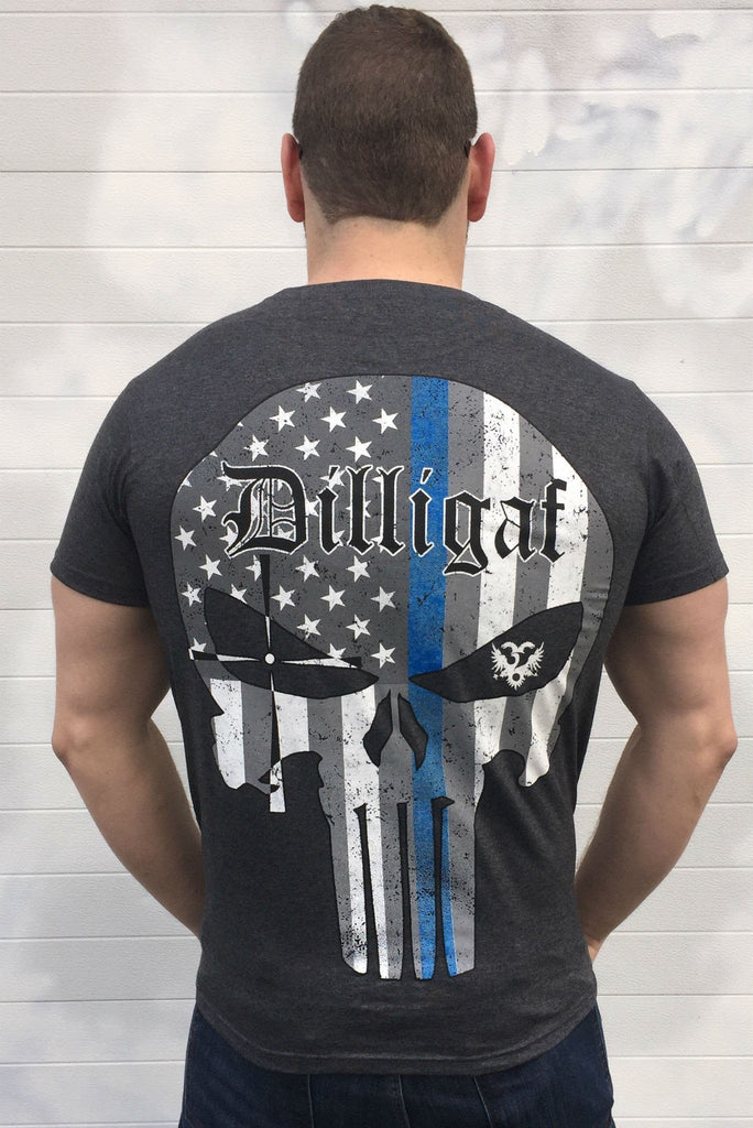 Blue Lives Matter Punisher Tee