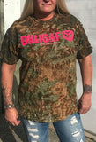 Camo - Full figure shirt