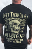 Don't Tread on Me Skull Tee